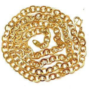 AVON Vintage Gold Thick Chain Necklace